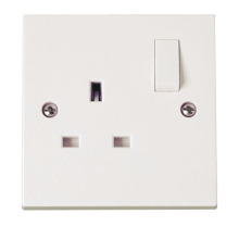 Click PRW035 1 Gang 13A DP Switched Socket Outlet