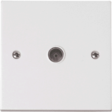 Click PRW065 Single Coaxial Socket Outlet