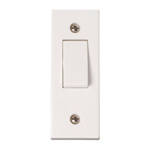 Click PRW171 1 Gang 10AX 2 Way Architrave Switch