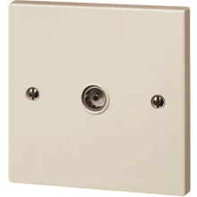 Click PRW202 45A DP Plate Switch - Double Plate Size