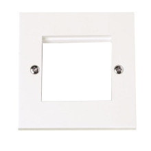 Click PRW311 Single Plate (Twin Media Module Aperture)