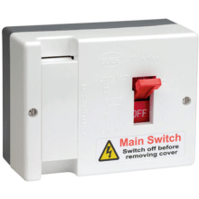 Click Scolmore DB750  100A Fused Mains Switch ( 100a HRC Fused Fitted )