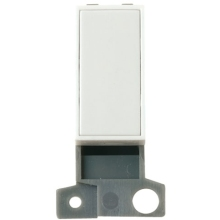 Click Scolmore MD008WH Blank Module- White