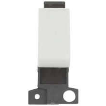 Click Scolmore MD075WH 10A 3 Position Retractive Switch Module - White