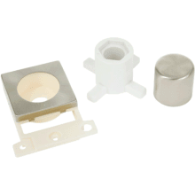 Click Scolmore MD150SC Dimmer Mounting Module Kit - Satin Chrome