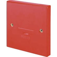 Click Scolmore WA049RD 3A Fused Connection Unit  Red
