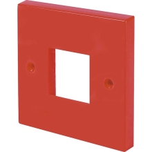 Click Scolmore WA402RD Single Plate Switch Red  2 -  Aperture