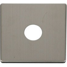 Click SCP221SS 1 Gang Toggle Switch Cover Plate - Stainless Steel