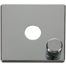 Click SCP241CH 1 Gang Dimmer Switch Cover Plate - Chrome