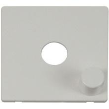 Click SCP241PW 1 Gang Dimmer Switch Cover Plate - White