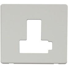 Click SCP451PW Switched Connection Unit (Lockable) Cover Plate - White