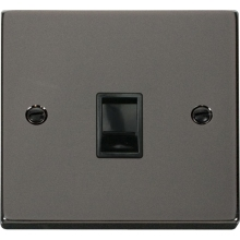 Click VPBN115BK Single RJ11 Socket (Ireland/USA)