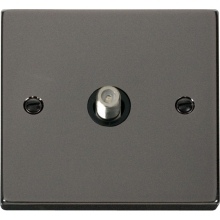 Click VPBN156BK 1 Gang Satellite Socket Outlet