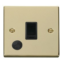 Click VPBR022BK 20A 1 Gang DP Switch With Flex Outlet