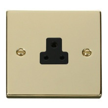 Click VPBR039BK 2A Round Pin Socket Outlet