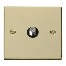 Click VPBR156BK 1 Gang Satellite Socket Outlet