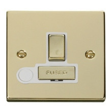 Click VPBR551WH 13A Fused 'Ingot' Switched Connection Unit With Flex Outlet