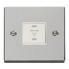 Click VPCH020WH 10A 1 Gang 3 Pole Fan Isolation Switch