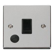 Click VPCH022BK 20A 1 Gang DP Switch With Flex Outlet