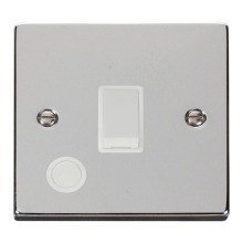 Click VPCH022WH 20A 1 Gang DP Switch With Flex Outlet