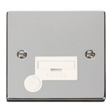 Click VPCH050WH 13A Fused Connection Unit With Flex Outlet
