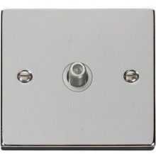 Click VPCH156WH 1 Gang Satellite Socket Outlet