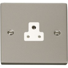 Click VPPN039WH 2A Round Pin Socket Outlet