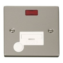 Click VPPN053WH 13A Fused Connection Unit With Flex Outlet & Neon
