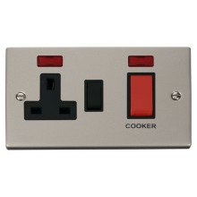 Click VPPN205BK 45A DP Switch + 13A Switched Socket & Neons (2)
