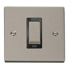 Click VPPN500BK Ingot 1 Gang 45A DP Switch