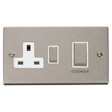 Click VPPN504WH Ingot 45A DP Switch + 13A Switched Socket
