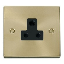 Click VPSB038BK 5A Round Pin Socket Outlet