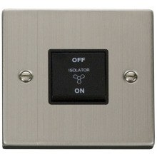 Click VPSS020BK 10A 1 Gang 3 Pole Fan Isolation Switch
