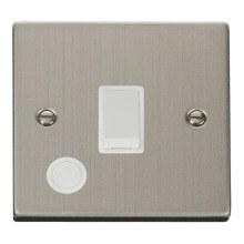 Click VPSS022WH 20A 1 Gang DP Switch With Flex Outlet