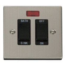 Click VPSS024BK 20A DP Sink/Bath Switch