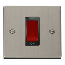 Click VPSS200BK 1 Gang 45A DP Switch