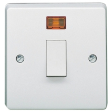 Crabtree 4013/3 32A DP Switch & Neon