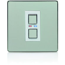 Deta 1G 9501SCW Satin Chrome Master Dimmer