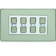 Deta 4G 9504SCW Satin Chrome Master Dimmer