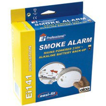 Aico Mains Battery Back Up Smoke & Heat Alarm EI141RC Ionisation