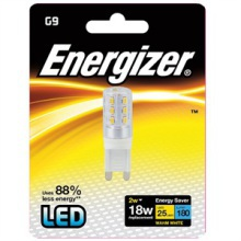 Energizer S8100 G9 LED Warm White Lamp