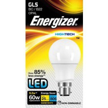Energizer S8121 10W LED GLS BC Opal Warm White