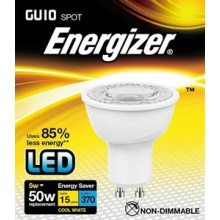 Energizer S8825 5W GU10 LED Cool White