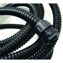 Flex-It A40/30M 40MM PVC Spiral Reinforced Conduit Black - 30 Metre Length