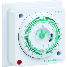 Greenbrook T100-C 24 Hour Mechanical Timer
