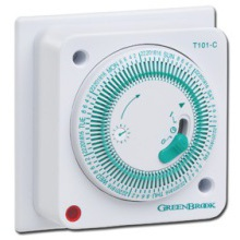Greenbrook T101-C 7 Day Socket Box Timer 16A
