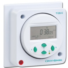 Greenbrook T105-C 7 Day Electronic Socket Box Timer 16A