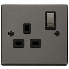 Black Nickel Deco Socket & Switches