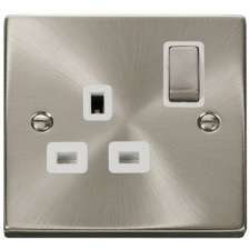 Click Deco Stainless Steel Sockets & Switches