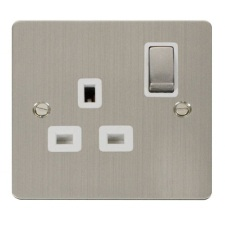 Click Define Stainless Steel Sockets & Switches